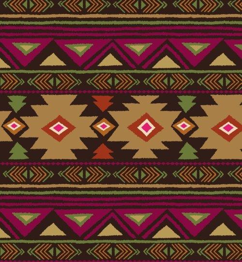 Peace Stripe Fleece - Brown