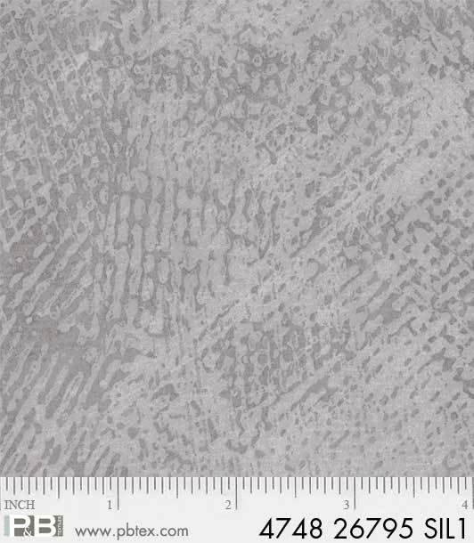 Bahara Spackle - Silver Fabric