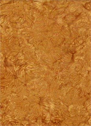 In the Meadow Abstract - Gold Batik
