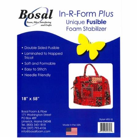 Bosal In R Form Plus Fusible Stabilizer (18x58)