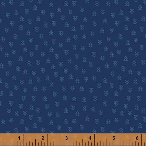 Wanderer's Weekend Arrowheads - Navy Fabric