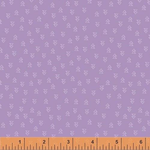 Wanderer's Weekend Arrowheads - Lilac Fabric