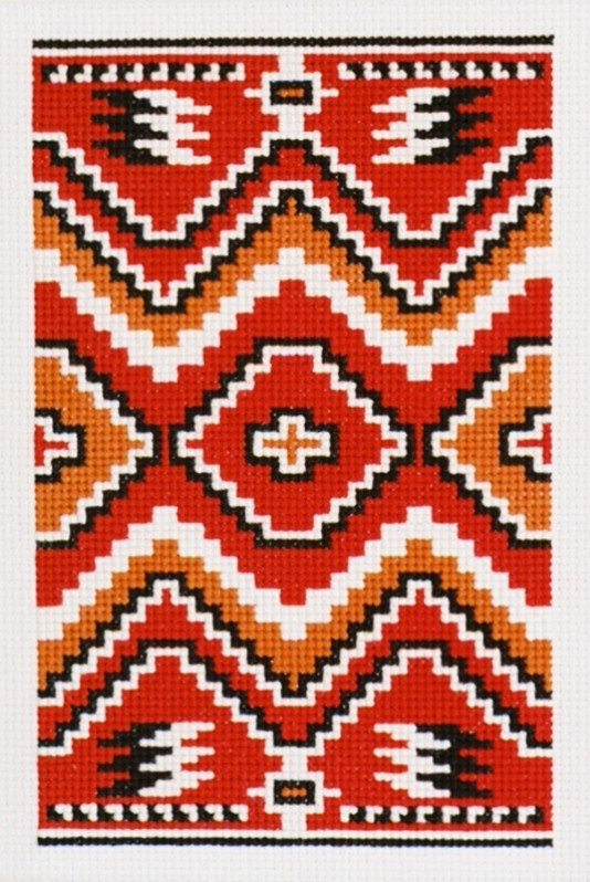 Transitional Counted Cross Stitch