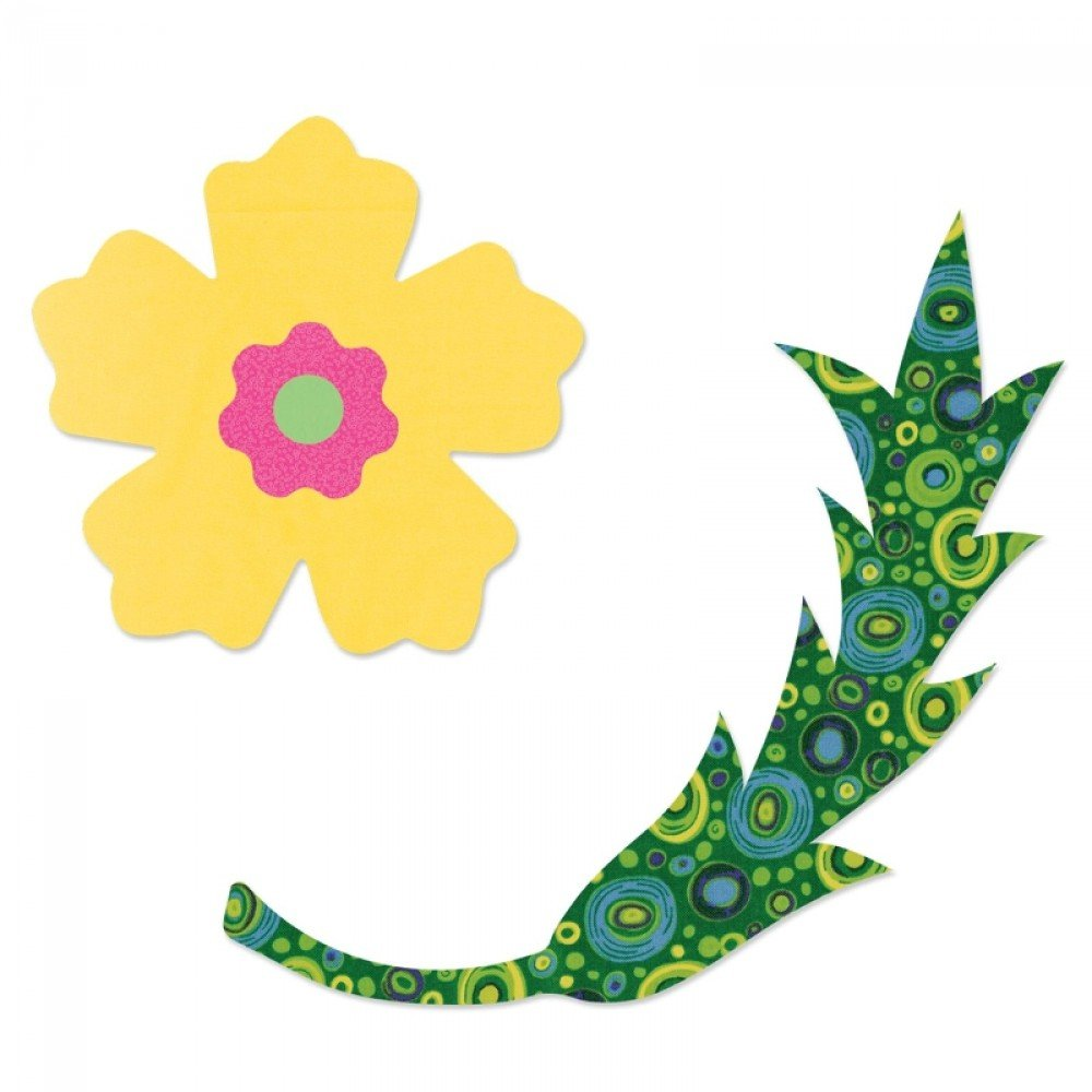 Sizzix Bigz Die - Flowers & Vine #4