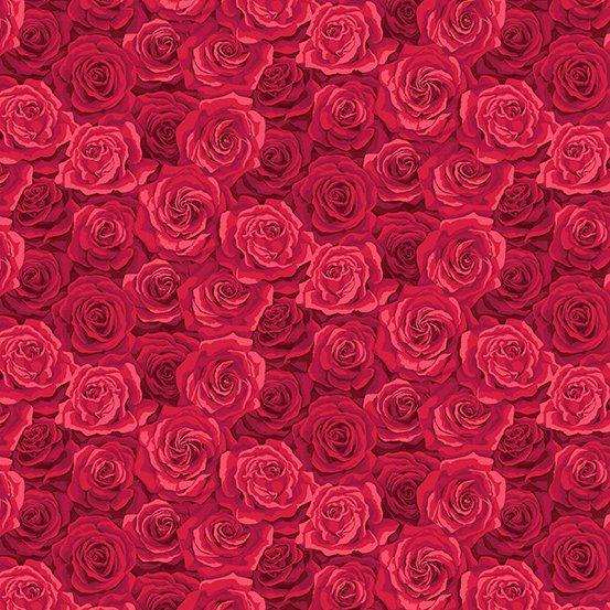 Summer Garden Roses - Red