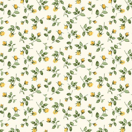 Summer Garden Rosebuds - Yellow