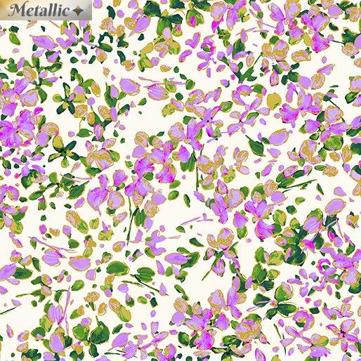Petal Party - White/Lilac
