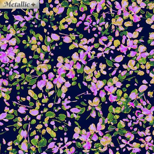 Petal Party - Navy/Lilac