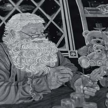 OESD Santa's Workshop Tiling Scene CD