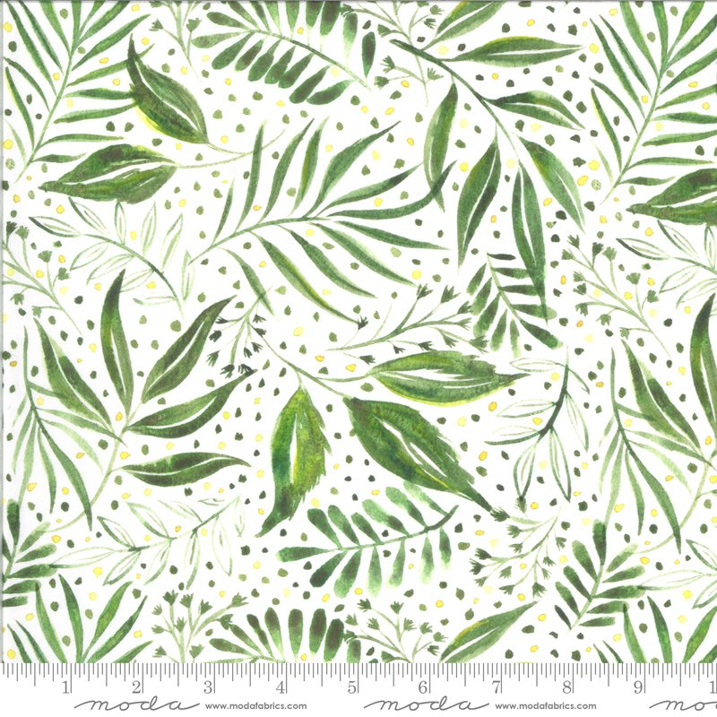 Moody Bloom Ferns - Jungle DP