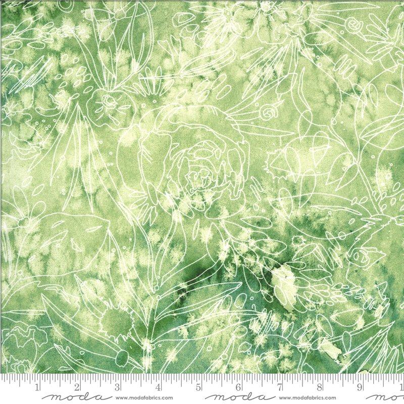 Moody Bloom Sketch - Jungle DP