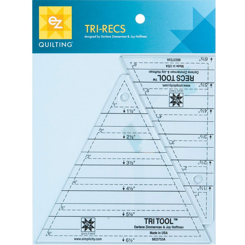 Tri Recs Triangle Rulers