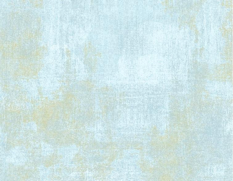 Butterfly Haven Dry Brush - Blue/Green Fabric