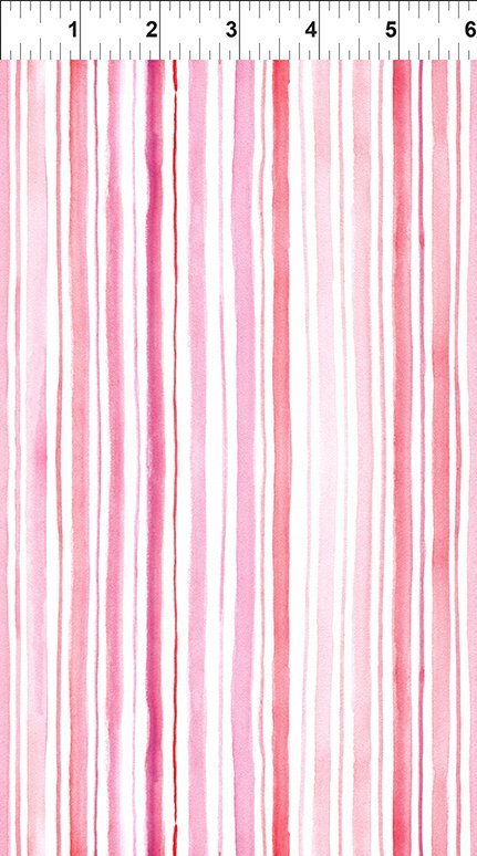 Pretty In Pink! Soft Stripe