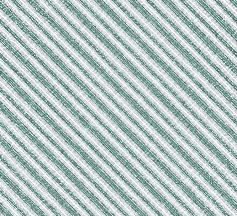 Friendly Gathering Diagonal Stripe - Gray/Teal Fabric