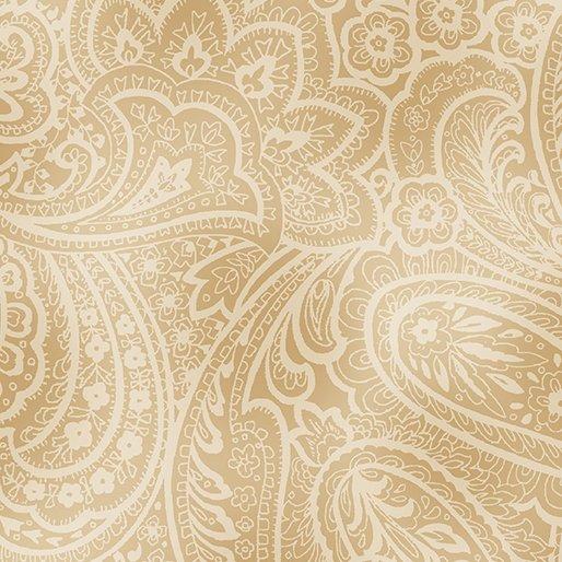 Radiant Paisley - Wheat
