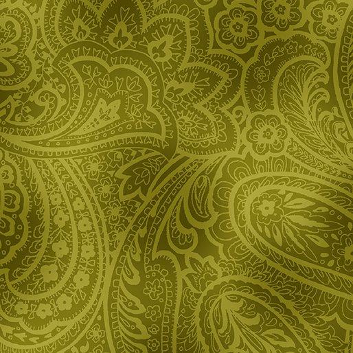Radiant Paisley - Green