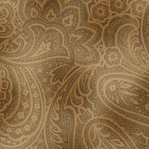Radiant Paisley - Sepia