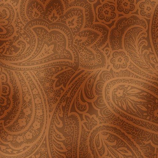 Radiant Paisley - Brown