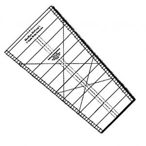 Extension Ruler for Circle Wedge