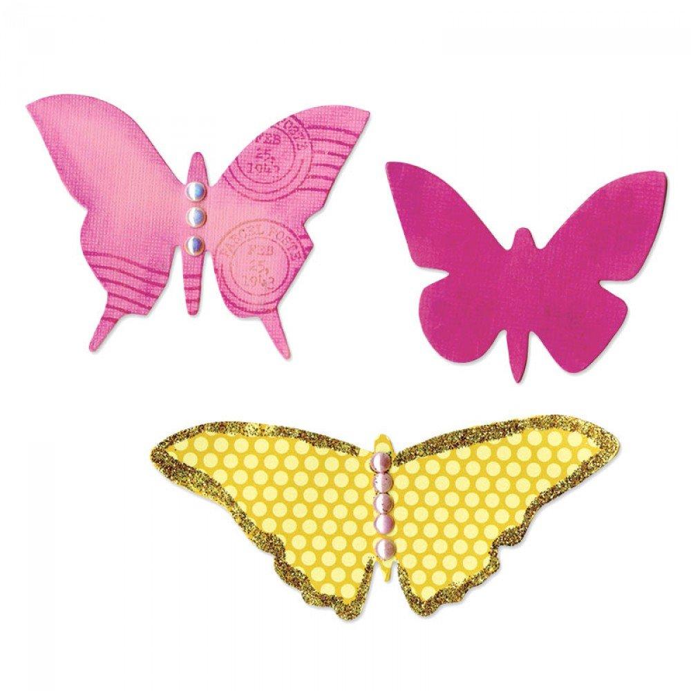 Sizzix Bigz Die - Butterflies #4
