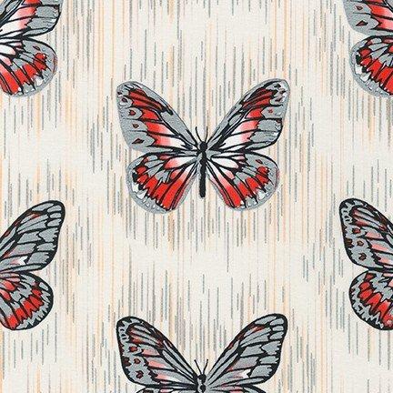 Spring Shimmer - Butterfly White Metallic