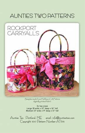 Aunties Two Rockport CarryAlls Pattern