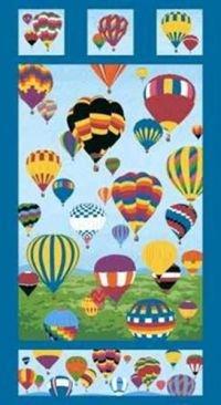 Hot Air Balloon Panel