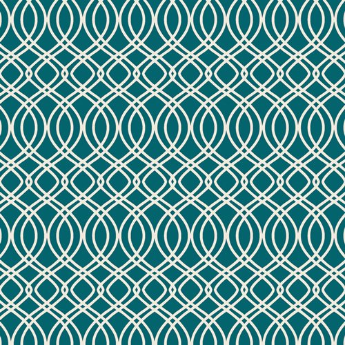 Bloomsbury - Knotted Trellis Spearmint Fabric