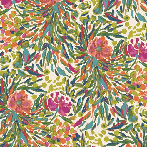 Bloomsbury - Writers Garden Petal Fabric