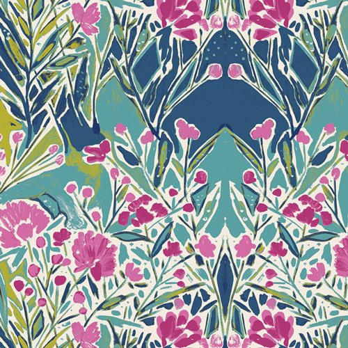 Bloomsbury - Ms Woolf Calmwater Fabric