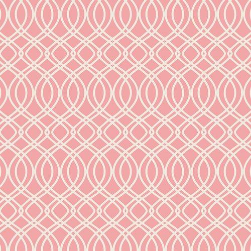 Bloomsbury - Knotted Trellis Parfait Fabric