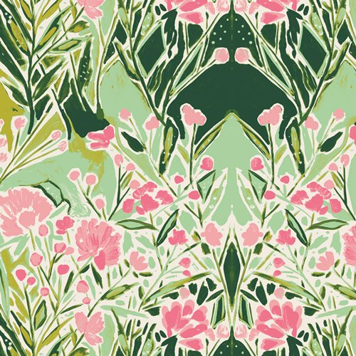 Bloomsbury - Ms Woolf Freshwater Fabric