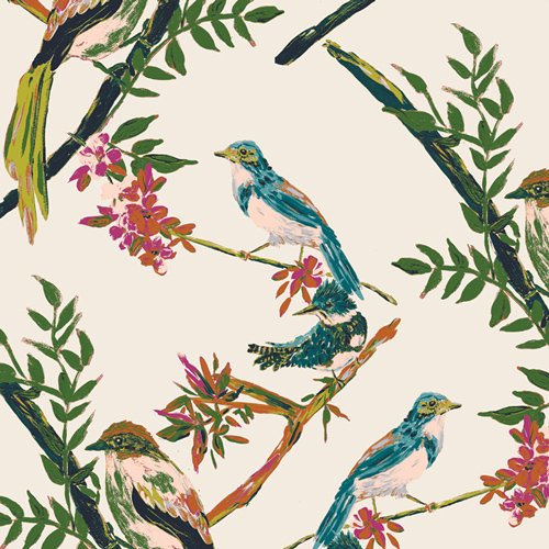 Bloomsbury - Day Chatter Fabric