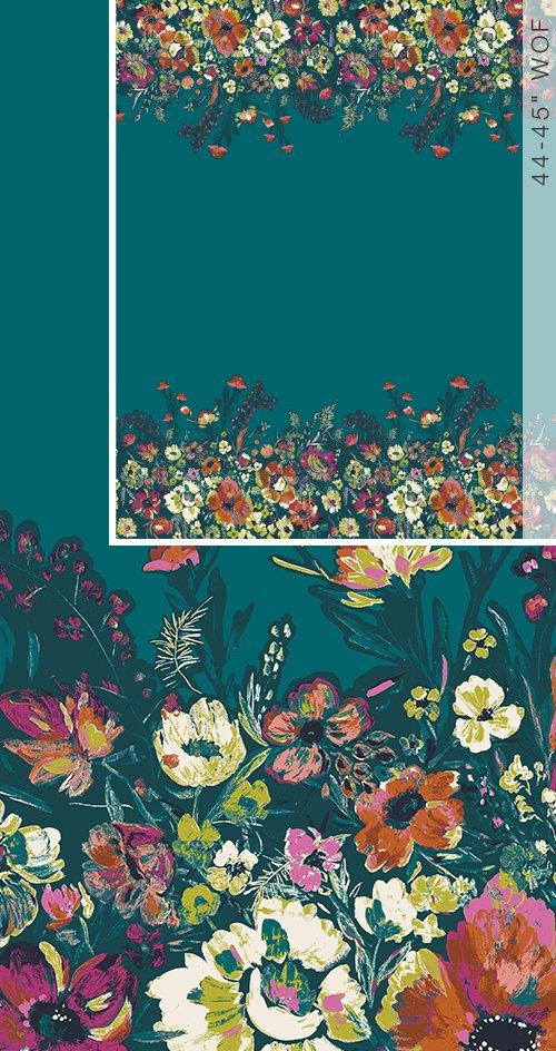 Bloomsbury - Roads to Flowerhouse Fabric
