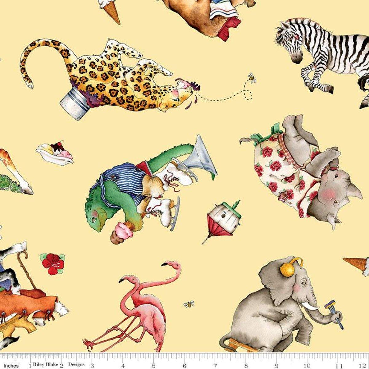 Hungry Animal Alphabet Animal Toss - Yellow DP