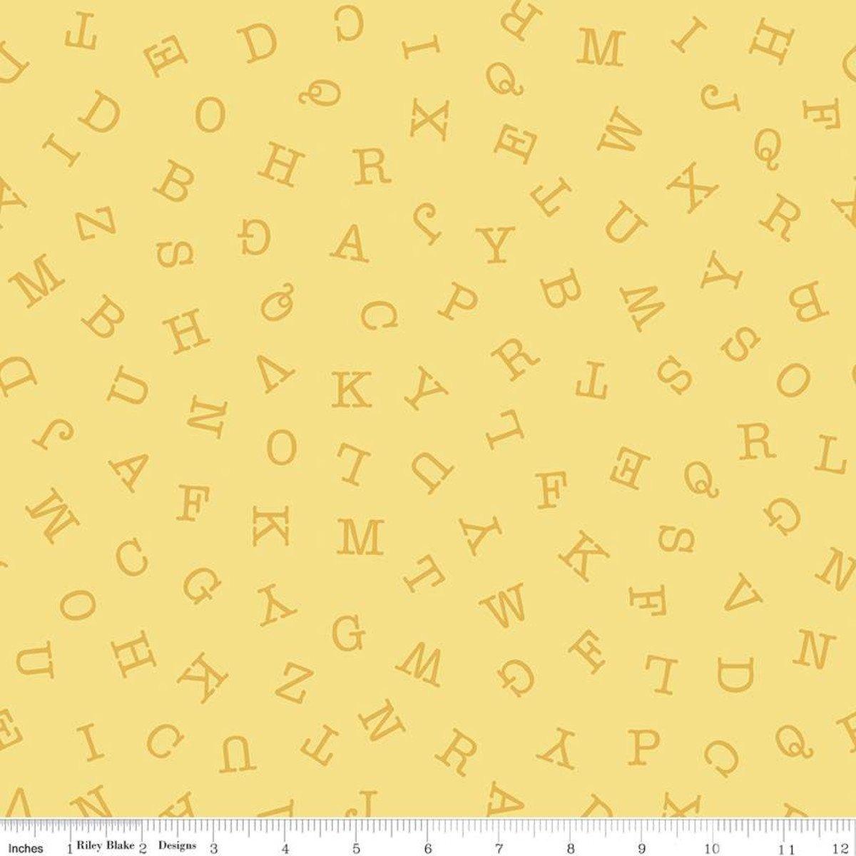 Hungry Animal Alphabet ABC Toss - Lemon