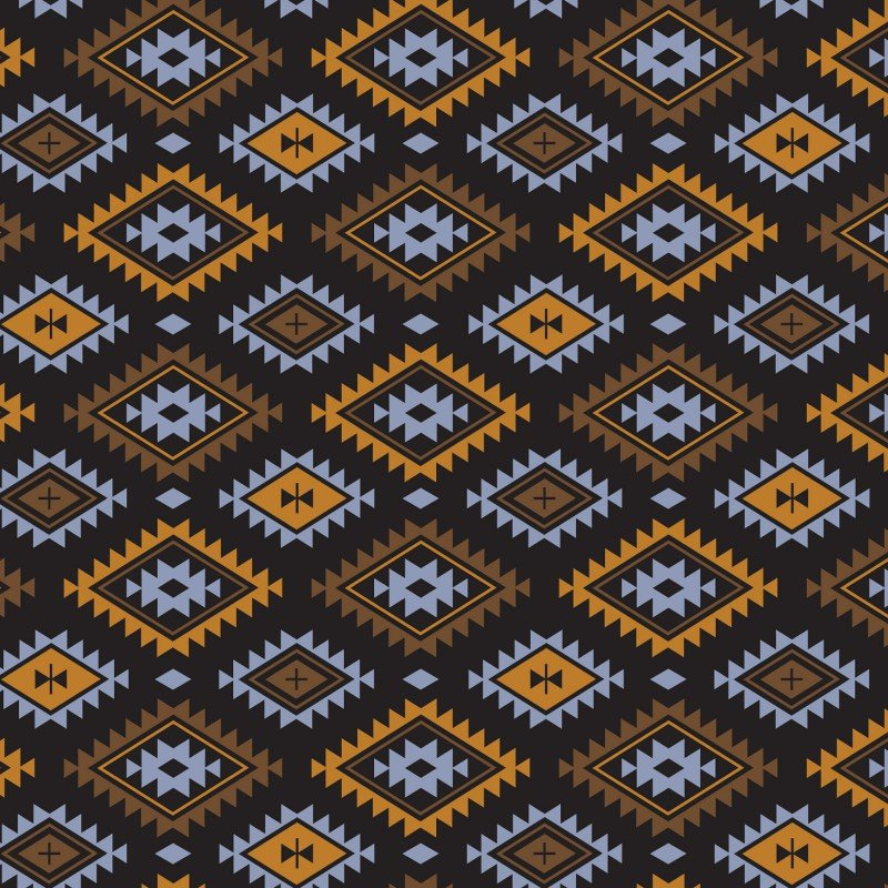 Aztec Tribal - Multi Fleece