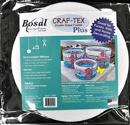 Bosal Craf-Tex Plus Camden Bowl Small Double Sided Fusible Stabilizer