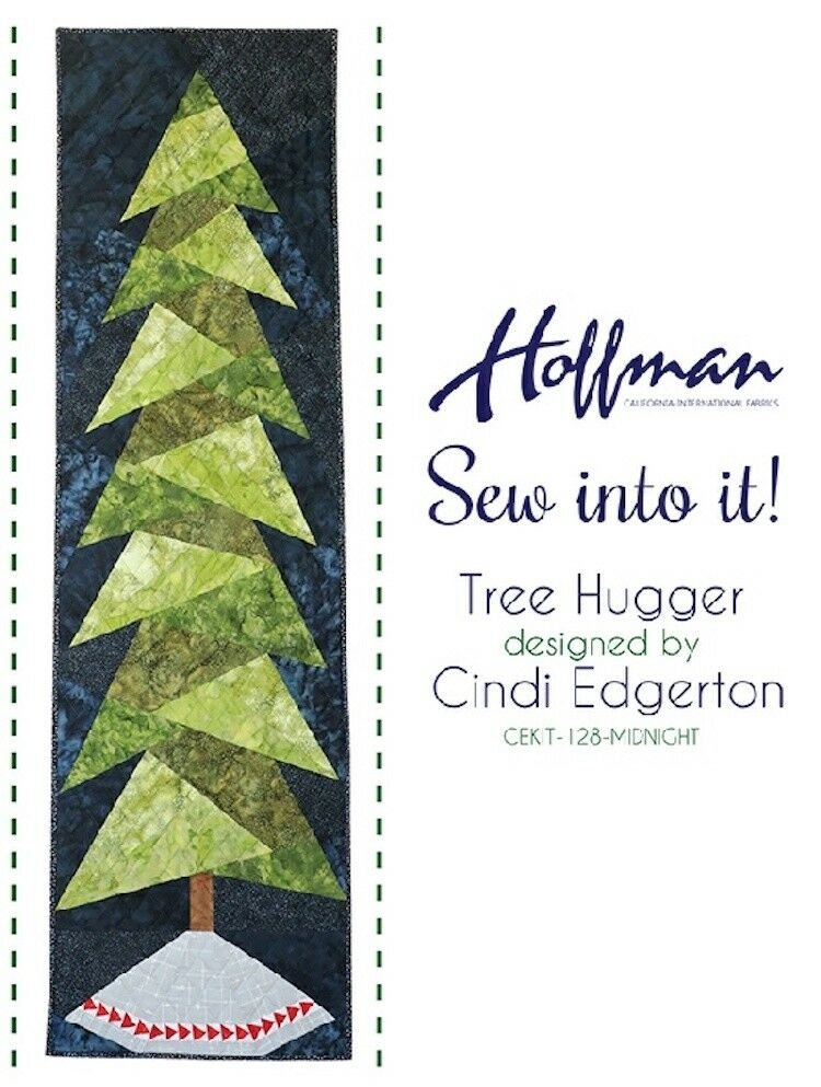Hoffman Sew into It! -  Tree Hugger Kit