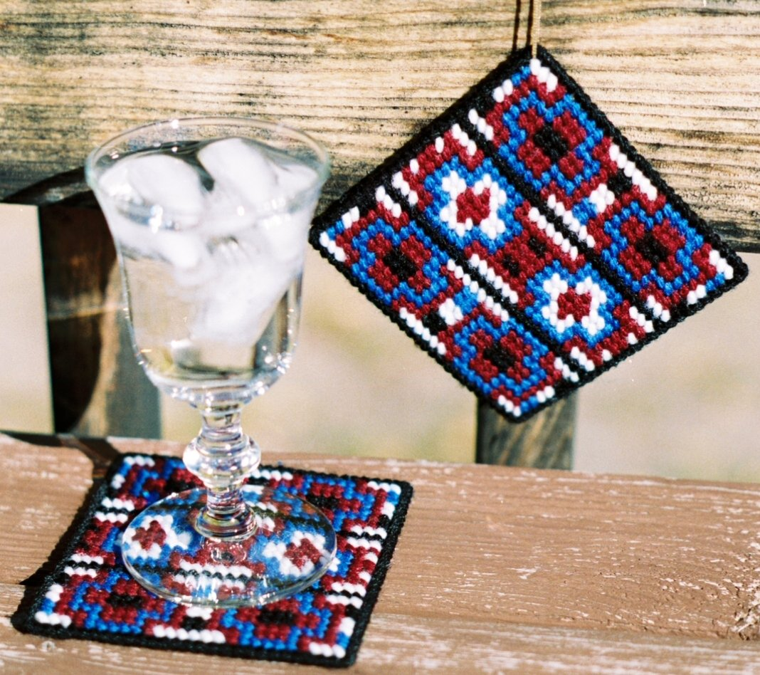 Coaster - Chief Blanket Needlepoint Kit