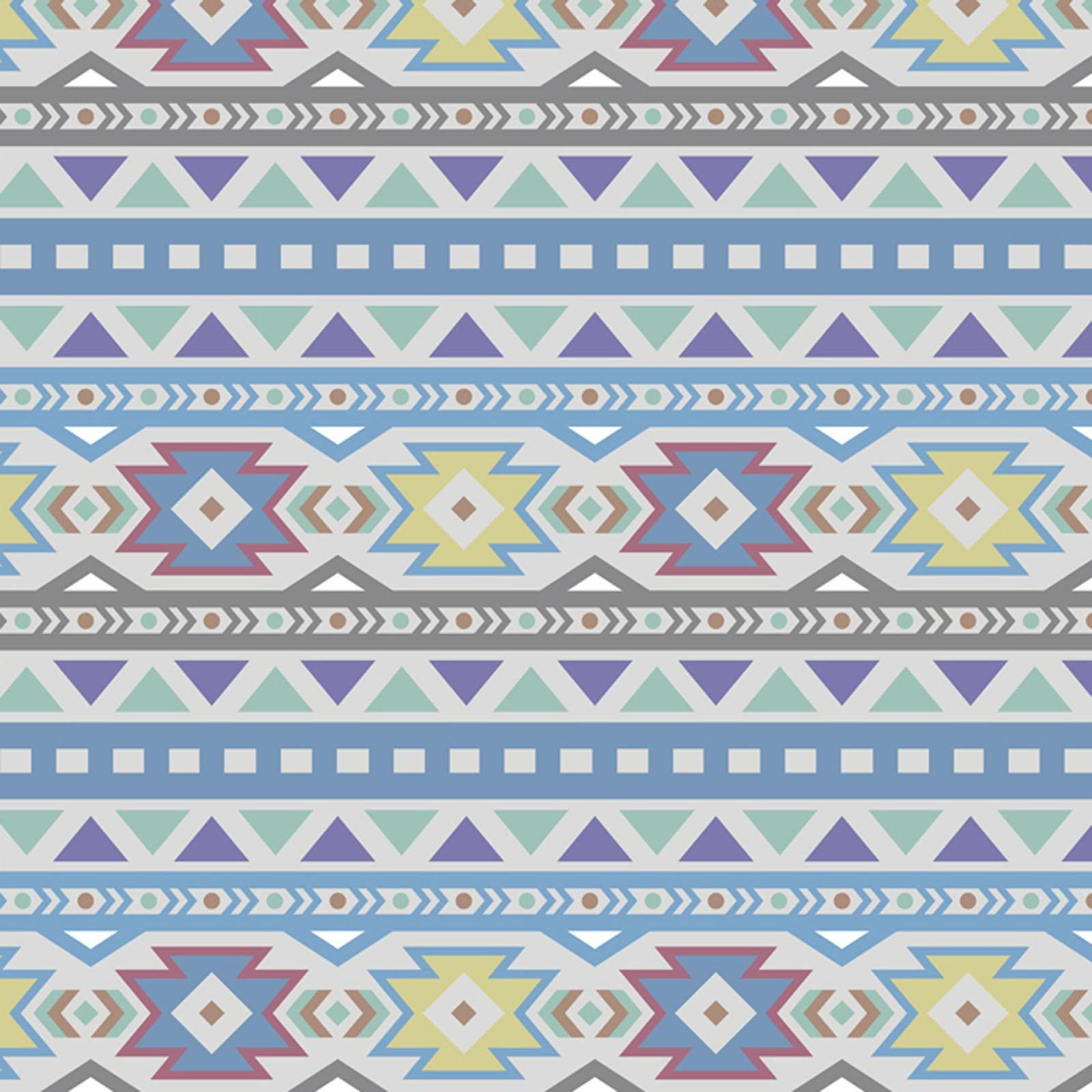 Tribal Pattern - Pastel Fleece