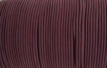 Elastic Polymet Cord - Burgundy  1/8 Wide