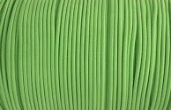 Elastic Polymet Cord - Palm Green  1/8 Wide
