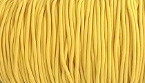 Elastic Polymet Cord - Yellow Gold  1/8 Wide