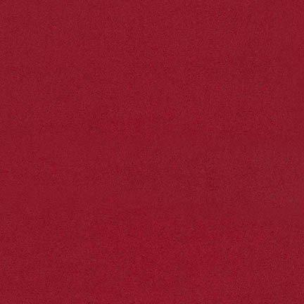 Solid Flannel - Scarlet