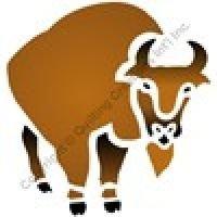 Buffalo Paint Stencil