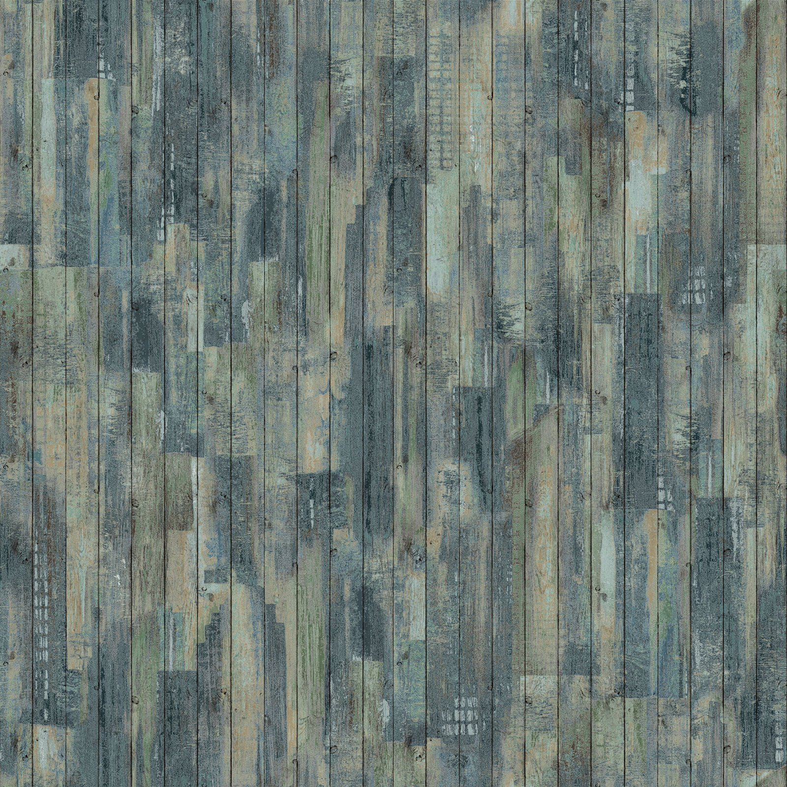 Outdoor Adventure Distressed Wood - Teal