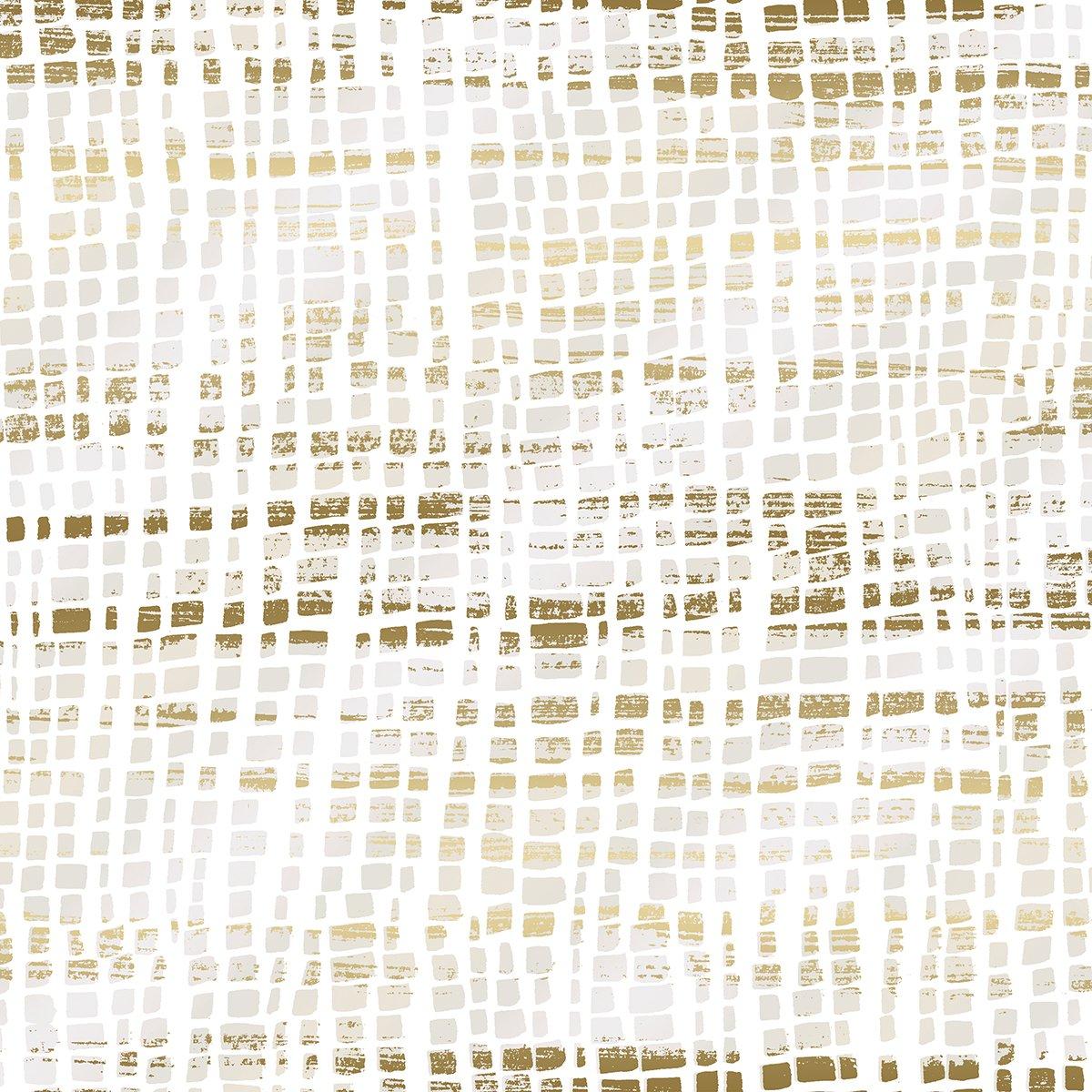 SO Good as Gold Silk Scarf - Pearl Metallic Fabric