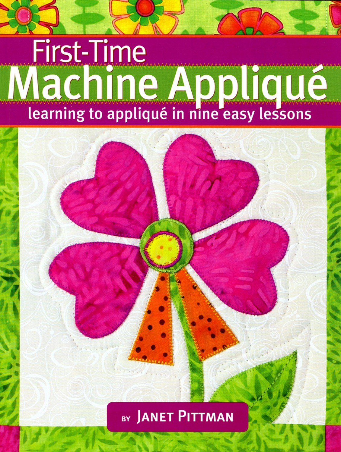 First-Time Machine Applique Book